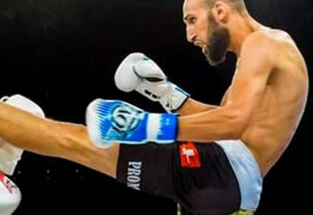 Moutaharrik Abderrahim, il kickboxer jihadista (Foto rsi.ch)