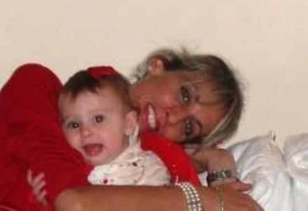 Alessia Olimpo insieme alla figlia (Leggo.it)