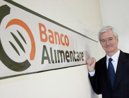 Andrea Giussani, presidente Banco Alimentare (Immagine dal web)