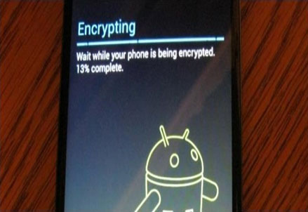 Android encryption (tomshw)
