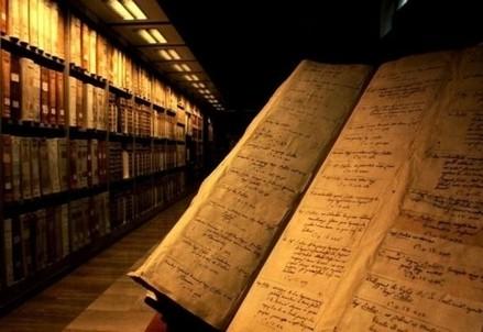 Dentro gli Archivi Vaticani (Immagine d'archivio)