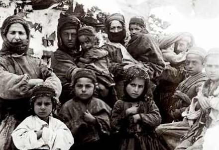 Profughi armeni (Immagine d'archivio)