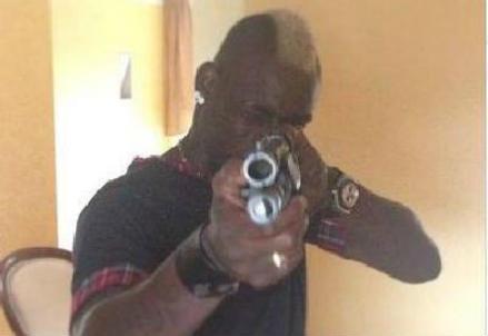La foto postata da Balotelli