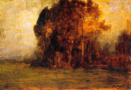 Bartolomeo Bezzi (1851-1923), Autunno (1908) (Immagine d'archivio)