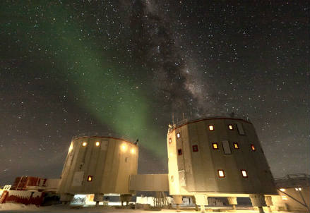 La base italo francese Concordia in Antartide