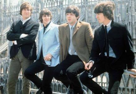 I Beatles a Milano nel 1965 (Foto Wikipedia)