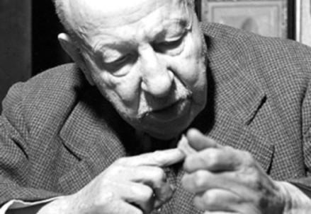 Benedetto Croce (1866-1952) (Immagine d'archivio)