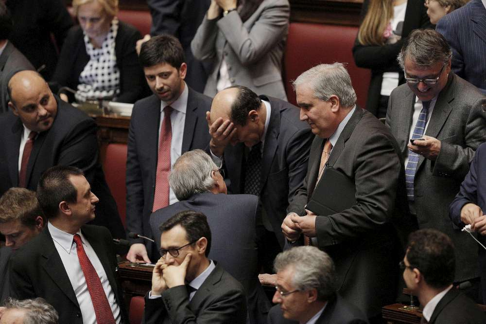 Il pianto di Pier Luigi Bersani