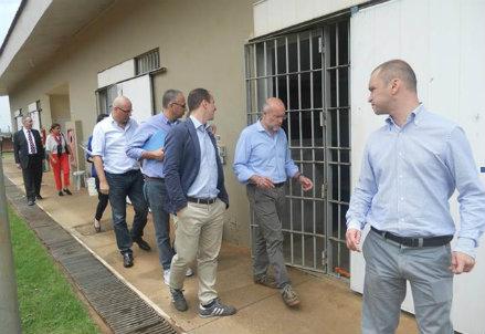 Un momento della missione in Brasile