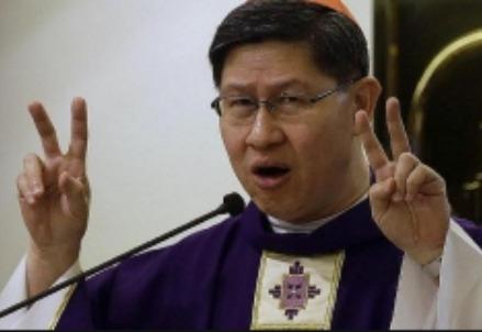 L'arcivescovo di Manila, il giovane cardinale Tagle