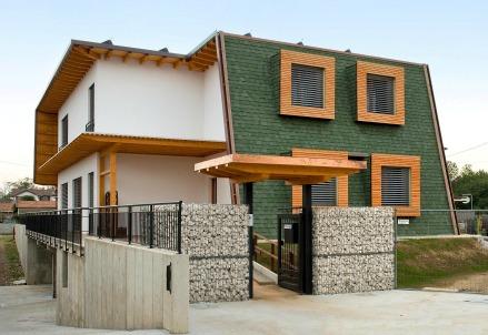 La storia quella casa passiva che non ha bisogno di for La casa tradizionale progetta una storia