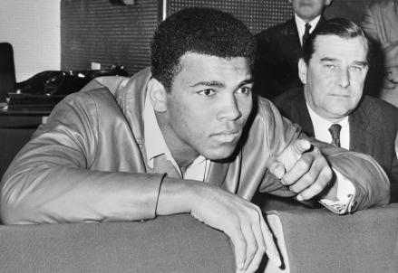Cassius Clay - Muhammad Ali (1942-2016) nel '66 (Foto Wikipedia)