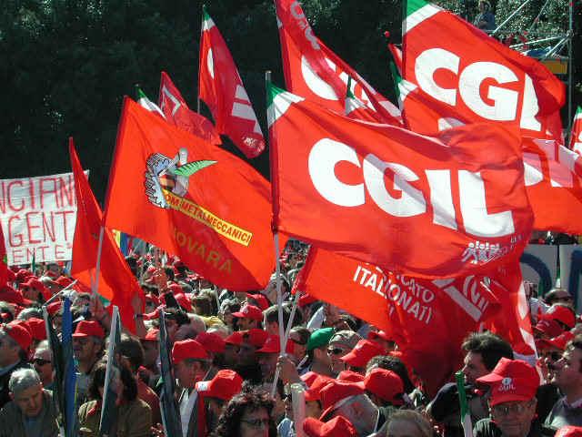Il sindacato della CGIL