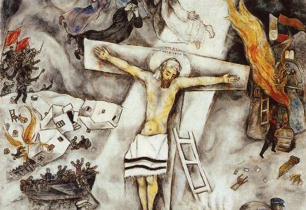 Marc Chagall, Crocifissione bianca (1938) (Immagine dal web)