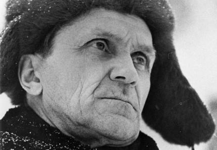 Varlam Shalamov (1907-1982) in una foto di B. Lesnyak (da http://shalamov.ru)