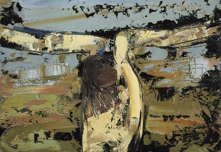 William Congdon, Crocefisso n. 9 (1961) (Foto dal web)