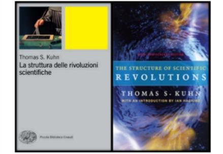 Le copertine dell'edizione italiana (a sinistra) per i tipi di Einaudi e quella del cinquantenario, per i tipi della The University Chicago Press