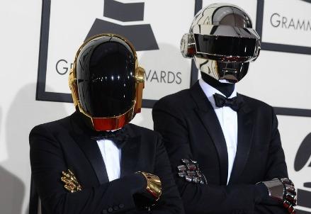 I Daft Punk ai Grammy 2014