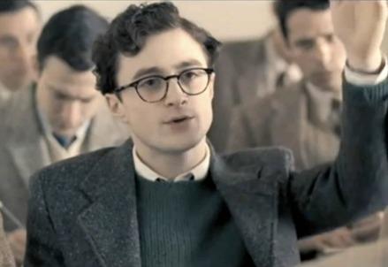 Daniel Radcliffe in una scena del film