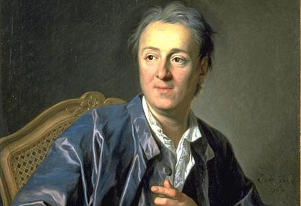 Louis-Michel van Loo, Diderot (1767) (Immagine d'archivio)