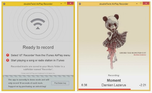 DoubleTwist per iTunes Radio