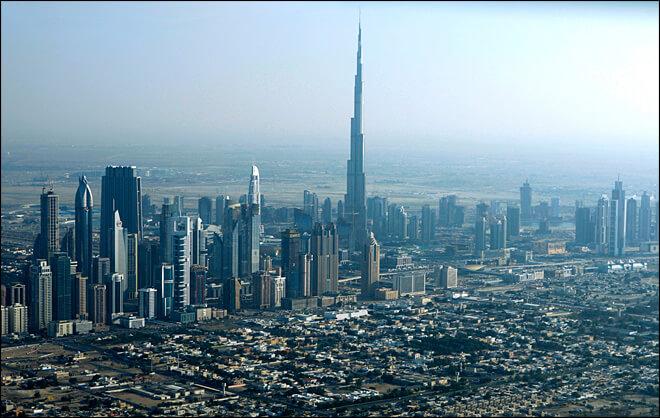 La città di Dubai