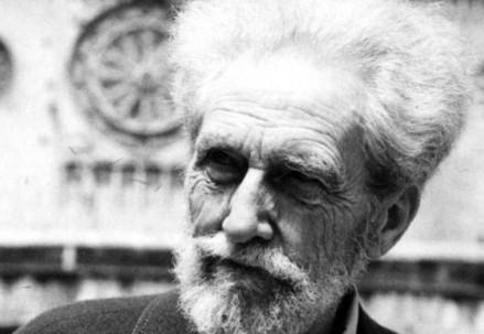 Ezra Pound (Immagine d'archivio)