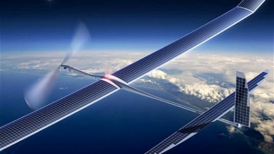 Un prototipo di Drone ad energia solare.