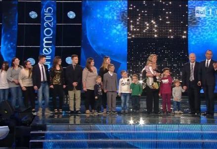 La famiglia Anania a Sanremo (Immagine dal web)