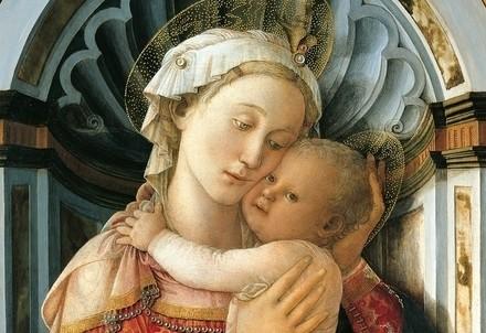 Filippo Lippi, Madonna di palazzo Medici-Riccardi (1466 circa) (Wikipedia)