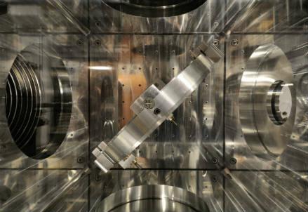 Particolare dell'acceleratore SPARC ai Laboratori INFN di Frascati
