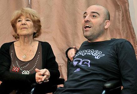 Fulvio Frisone e mamma Lucia