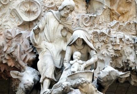 Gaudì, Sagrada Familia (1882-) (Immagine dal web)