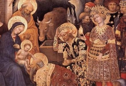 Gentile da Fabriano, Adorazione dei Magi (1423) (immagine dal web)