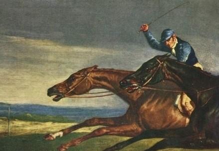 Théodore Géricault, Il derby di Epsom (particolare, 1821) (Immagine d'archivio)