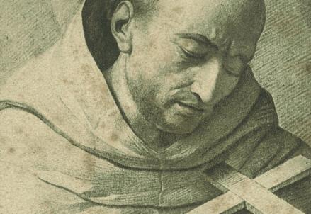 San Giovanni della Croce (1542-1591) in una stampa del XVIII sec.