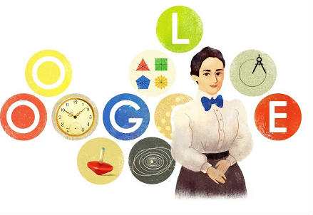 Un particolare del logo di Google