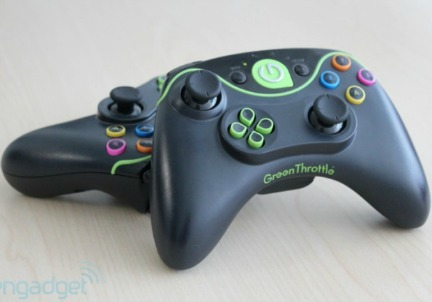 I due Joystick di Green Trottle