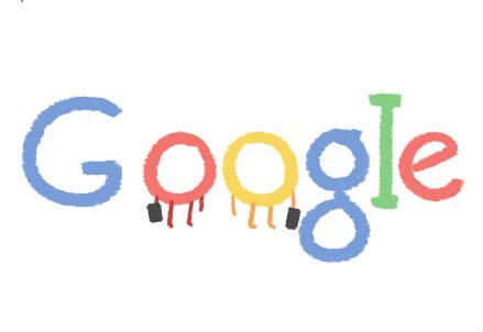 Uno dei loghi di Google per San Valentino