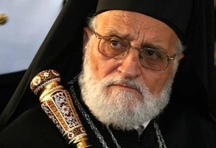 Il patriarca Gregorio III Laham (Immagine d'archivio)