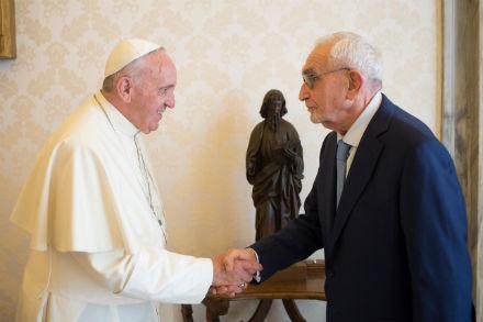 Guzzetti e Papa Francesco