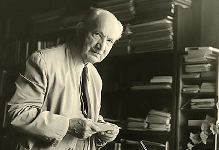 Martin Heidegger (1889-1976) (Immagine d'archivio)