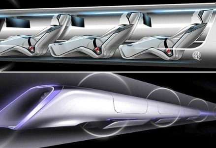 Hyperloop, treno sottovuoto a levitazione magnetica