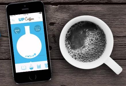 UpCoffee controlla la caffeina !