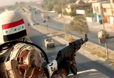 Soldato iracheno (Immagine dal web)