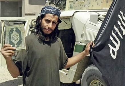 Abdelhamid Abaaoud, ucciso dalle forze speciali nel blitz di St Denis (Foto dal web)