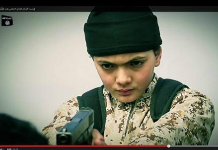 Il piccolo assassino dello stato islamico è francese (Immagine dal web)
