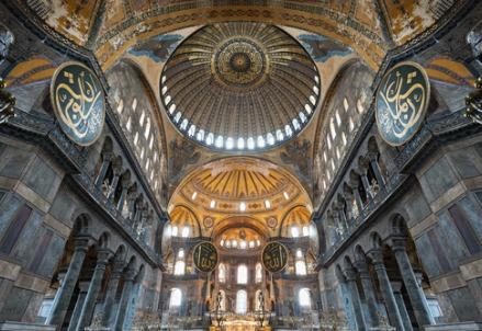 Istanbul, Santa Sofia (Foto dal web)