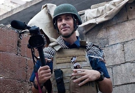 James Foley in una foto di Nicole Tung (nicoletung.com)