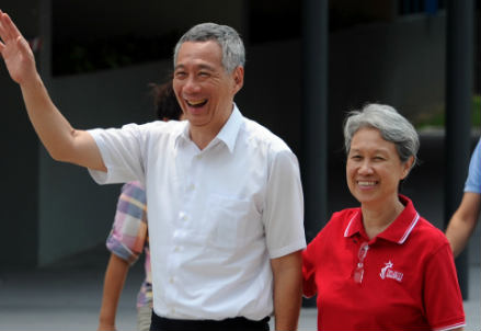 Lee Hsien Loong (InfoPhoto)
